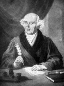 Samuel Hahnemann, originator of homeopathy