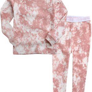 VAENAIT BABY 12M-12 Toddler Kids Boys Girls 100% Cotton Marbling Sung Fit Sleepwear Pajamas 2pcs Pjs Set Cloud