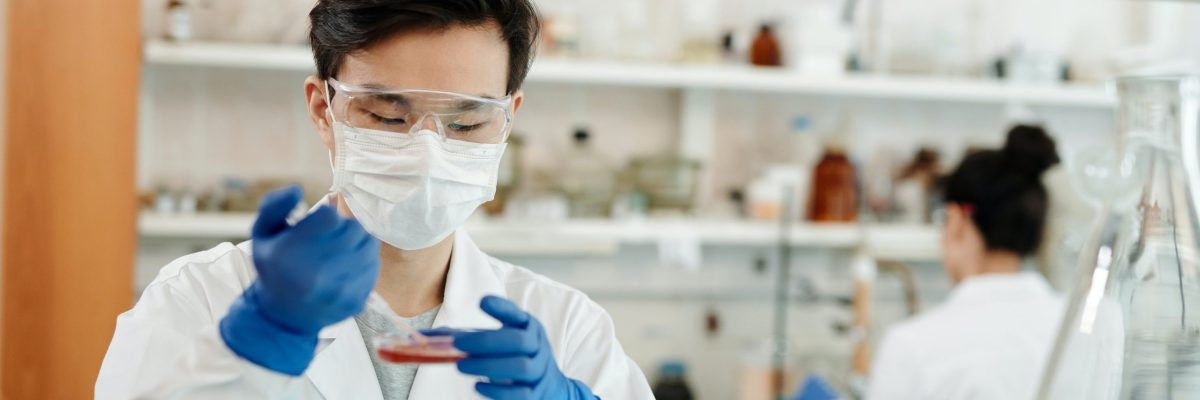 man-doing-a-sample-test-in-the-laboratory-4033148