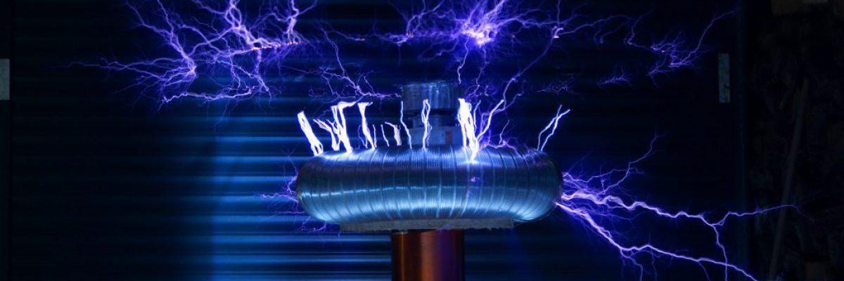 זרם חשמלי מאוד חזק